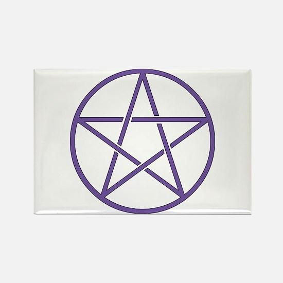 Purple Pentagram Magnets