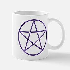Purple Pentagram Mugs