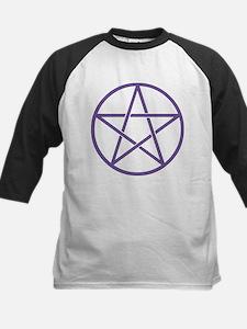 Purple Pentagram Baseball Jersey