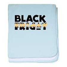Dark Friday baby blanket