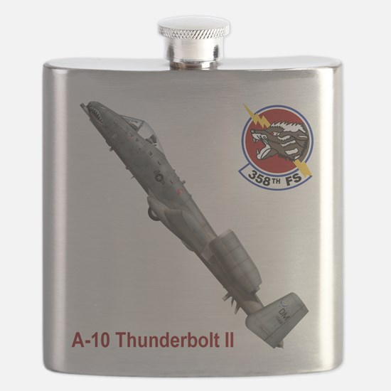 Funny Plane Flask