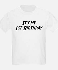 Its my 1st Birthday T-Shirt