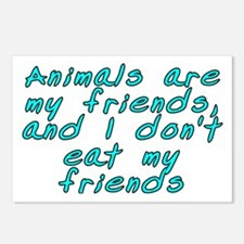 Animals are my friends - Postcards (Package of 8)