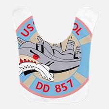 DD-857 A USS BRISTOL Destroyer Ship Military P Bib