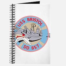 DD-857 A USS BRISTOL Destroyer Ship Milita Journal