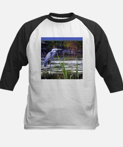 Blue Heron Sketch Baseball Jersey