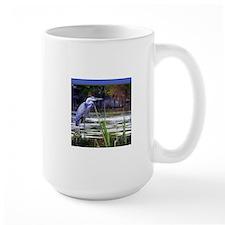 Blue Heron Sketch Mugs