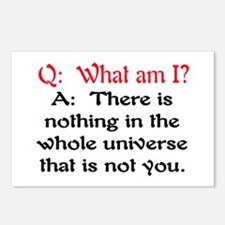 WHAT AM I? Postcards (Package of 8)