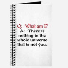 WHAT AM I? Journal