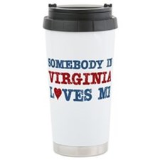 Cute Virginia Travel Mug