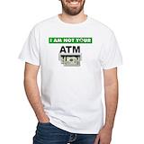 Atm Mens White T-shirts
