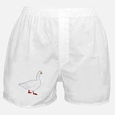 White Goose Boxer Shorts