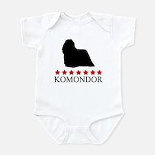 Komondor (red stars) Infant Bodysuit