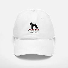 Kerry Blue Terrier (red stars Baseball Baseball Cap