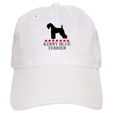 Kerry Blue Terrier (red stars Cap