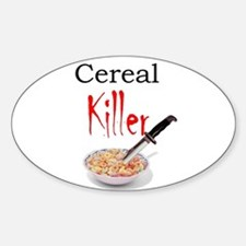 cereal killer Decal