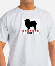 Keeshound (red stars) T-Shirt