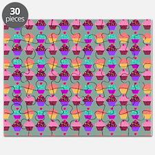 Yummy Sweet Cupcake Pattern Puzzle