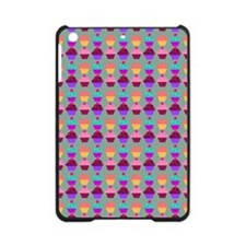 Yummy Sweet Cupcake Pattern iPad Mini Case