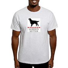 Gordon Setter (red stars) T-Shirt
