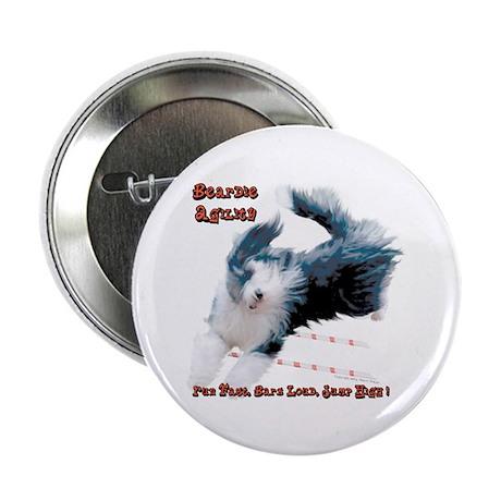Beardie Agility 2 Button (100 pk)