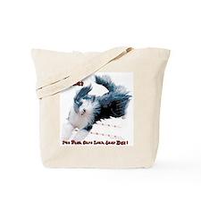 Beardie Agility 2 Tote Bag