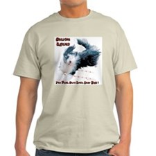 Beardie Agility 2 Ash Grey T-Shirt