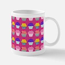 Yummy Sweet Cupcake Pattern Mug