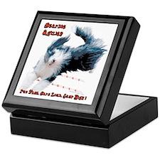 Beardie Agility 2 Keepsake Box