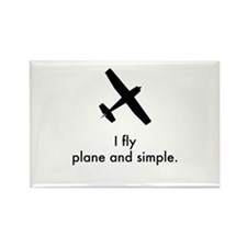 Plane and Simple 1407042 Magnets