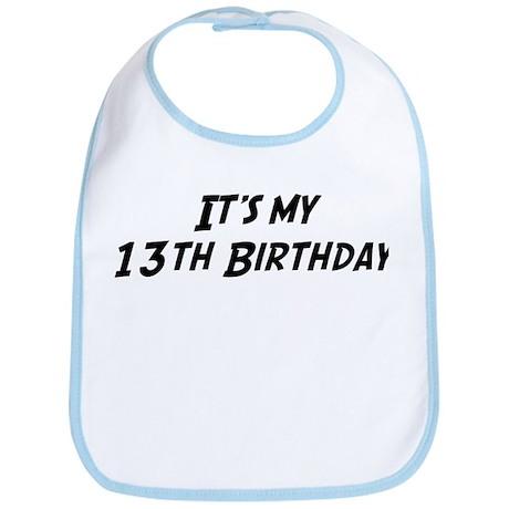 Its my 13th Birthday Bib