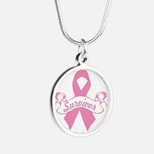 breast cancer survivor Necklaces