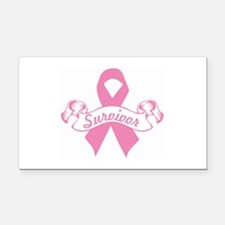 breast cancer survivor Rectangle Car Magnet