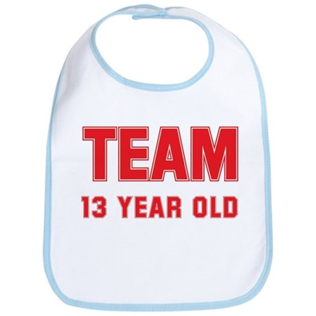 Team 13 YEAR OLD Bib
