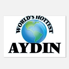 World's Hottest Aydin Postcards (Package of 8)