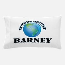 World's Hottest Barney Pillow Case