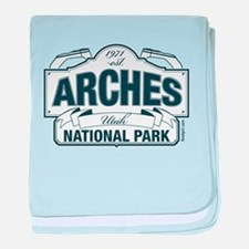 Arches National Park V. Blue baby blanket