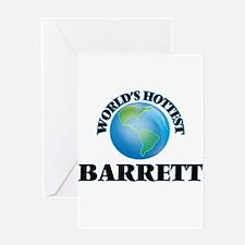 World's Hottest Barrett Greeting Cards