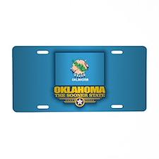 Oklahoma (v15) Aluminum License Plate