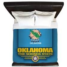 Oklahoma (v15) King Duvet