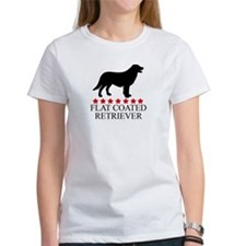 Flat Coated Retriever (red st Tee