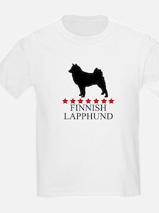 Finnish Lapphund (red stars) T-Shirt