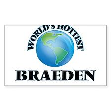 World's Hottest Braeden Decal