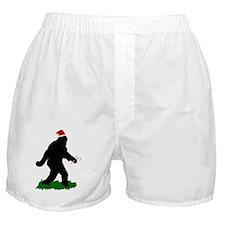 Gone Christmas Squatchin'  Boxer Shorts