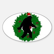 Gone Christmas Squatchin' Decal