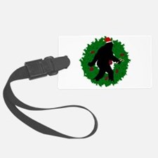 Gone Christmas Squatchin' Luggage Tag