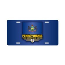Pennsylvania (v15) Aluminum License Plate