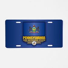 Pennsylvania (v15) Aluminum License Plate