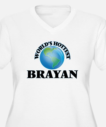World's Hottest Brayan Plus Size T-Shirt