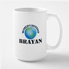 World's Hottest Brayan Mugs